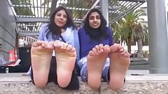 Indian duo of stinky feet