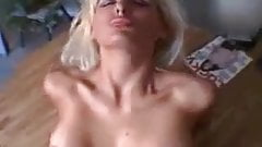 hot blonde fucked and creamed