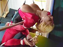 Desiree Lopez Spandex Predicament Bondage