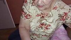 Granny 83 years old handjob IV