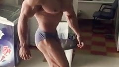hot arab bodybuilder bulge