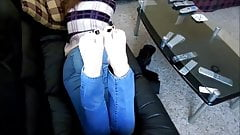 Teen booty and soles barefoot's Thumb