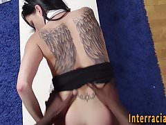 Babes mouth jizzed by bbc
