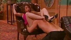 Retro fan-favorite pornstar Christy Canyon banged hard