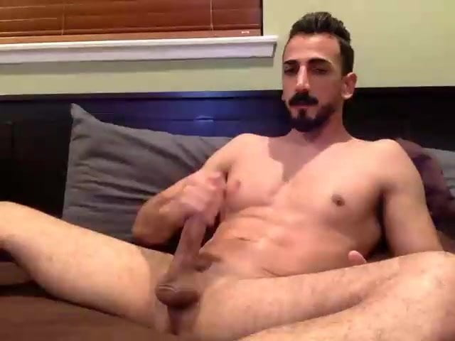 Lengthy Dick Man Is Determined For His Cum