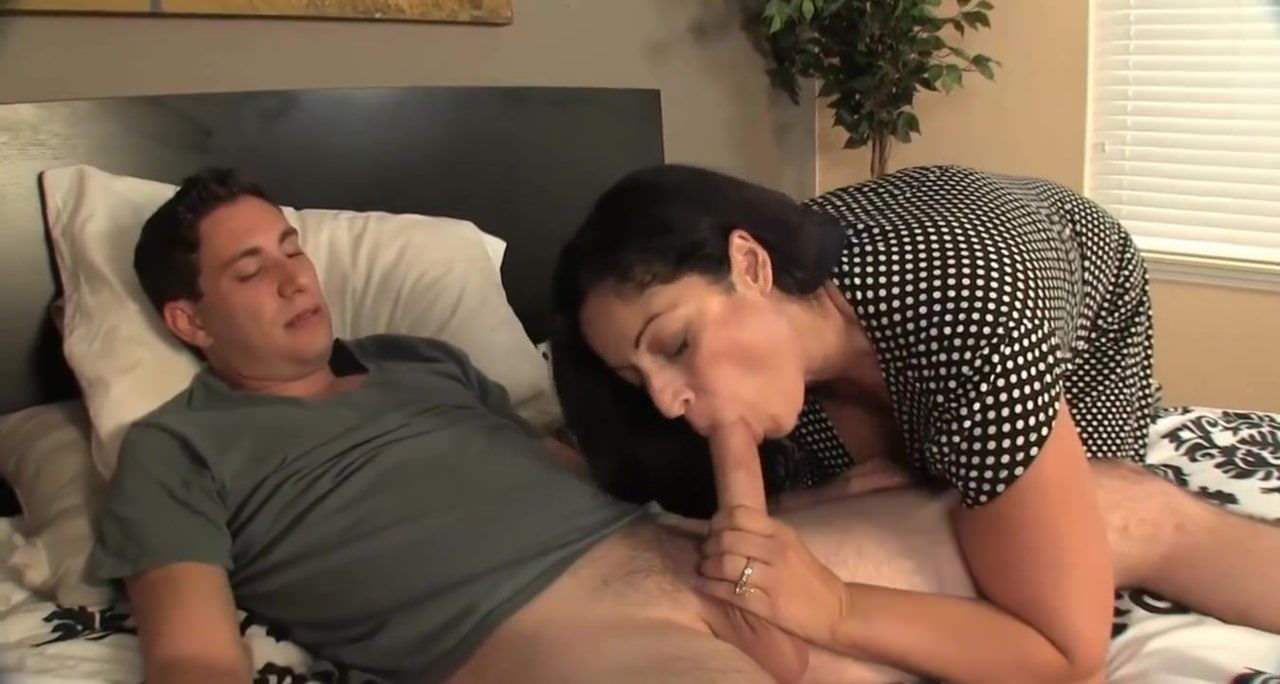 Free download & watch step son caught and helped by busty mom         porn movies