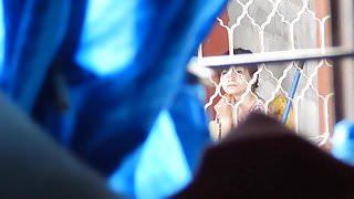 Flash girl watching me jkff (paja en boxer)