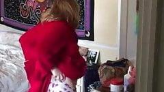 Hidden cam wifes pregnant tits