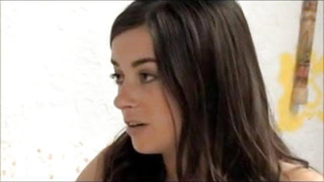 Ella Milano lesbische seks hete tiener douche Sex