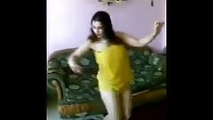 Arab Teen Dance in Yellow