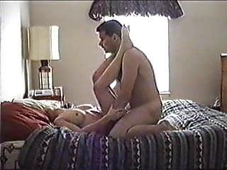 Hidden cam in hotel room.Part I.