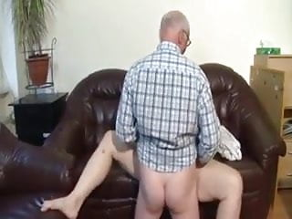 Chubby girl fucked by older man