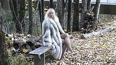 Walking in fox fur 1