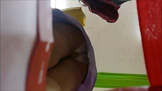UPSKIRT PANTYHOSE #3