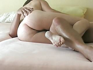 Peter fucked Anna after a horny clit rubbing