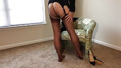 Copper Stockings & Heels