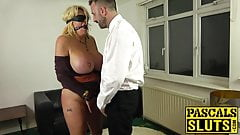 MILF Shannon Boobs ass pounded and severely spanked