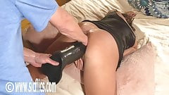 Double Fisting and Dildo Fucking Giant MILF Pussy