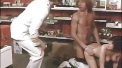 Linda Jade, Jennifer Sax, My Ling in vintage xxx clip