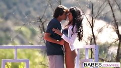 Babes - French Kiss  starring  Tyler Nixon and Chloe Amour c