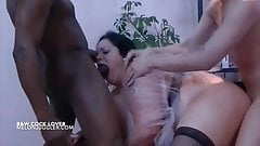 Big tits BBW filled with any colour big cocks