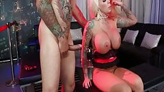 Tattooed Busty Lolly Ink getting fuck