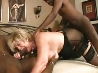Granny Gets Pounded By  Bbc