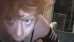 Mature Redhead loves pleasing with her mouth