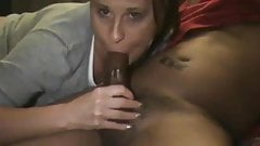 Amateur Wife Sucks Black Cock