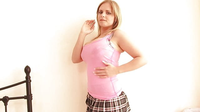 Preview 1 of Watch a gorgeous young blonde dress and undress for your pleasure