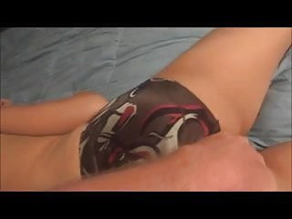 Same silky panties on wife...She likes them