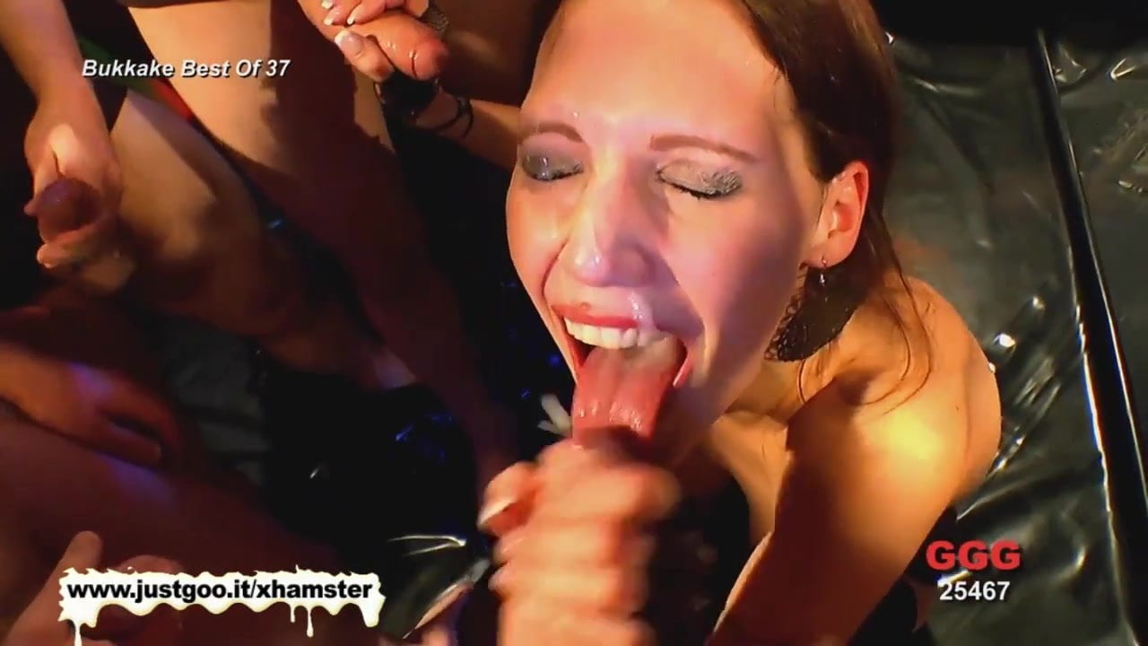 A small compilation of the best bukkake whores just for you