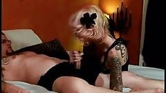 Hairy tattooed wife moans as she is fucked in homemade video