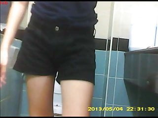 Sg Toilet Voyeur  Dark Blue T Shirt Black Shorts