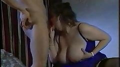 Framboise with big tits fucks with guy