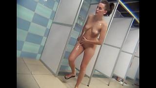 Hidden Cam Shower Room Part 22
