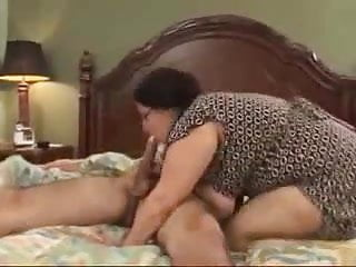 MILF Catches Her Stepson Jerking Off