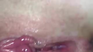 Hot russian slut. Fingering, fucking and cum on pussy!
