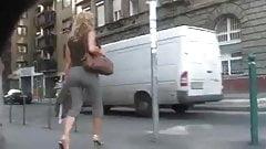 Amazing Mature's Ass Walking