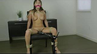 Chair Tied Orgasm