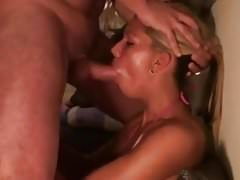 Cougar amateur give norway blowjob