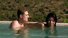 Oil Massage From Exotic Orient with Special Sex Outdoor