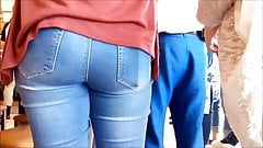 SPYCAM 3 FRESH TEENS ASSES IN JEANS