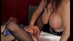 Squirting On Big Tits