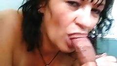 Milf blowjob hairy dick
