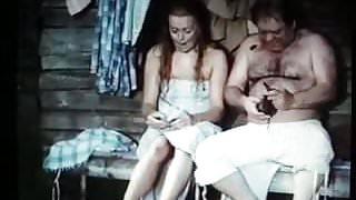 In a sauna