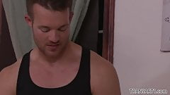 TS Foxxy convinces muscular masseuse Jett Parker