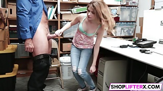 Gal Gets Punished And Father Watching