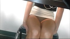 Christina (fine white girl, no panties)