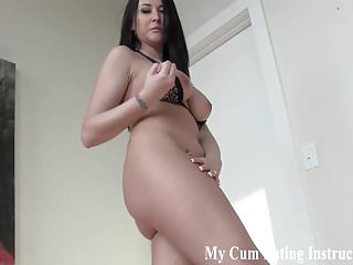 I caught you rubbing your cock during our lesson JOI